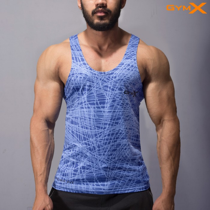 Phantom Electric Blue stringer (Flex Dry Fit)