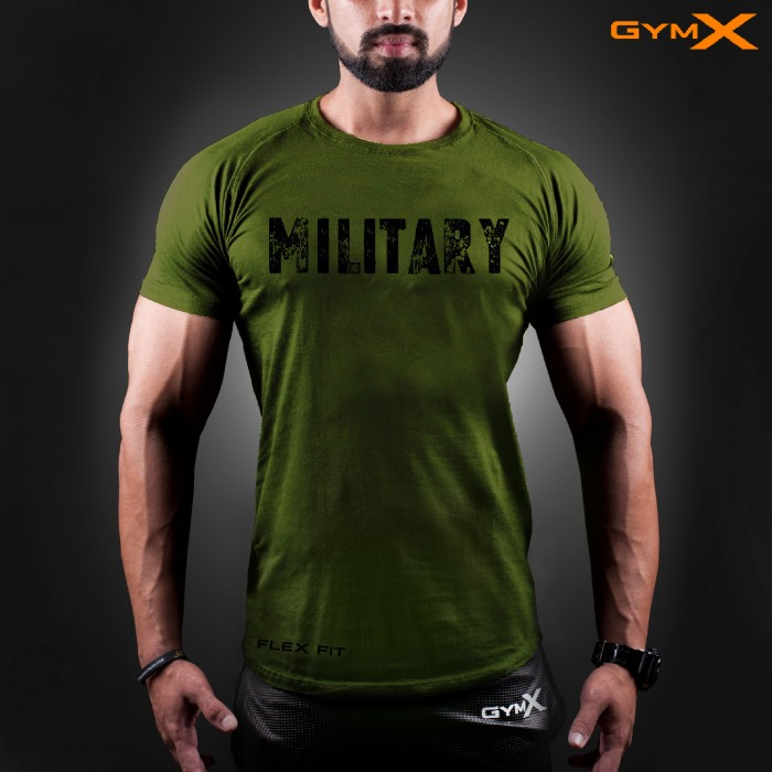 Military Ignite T-Shirt (Flex Fit)