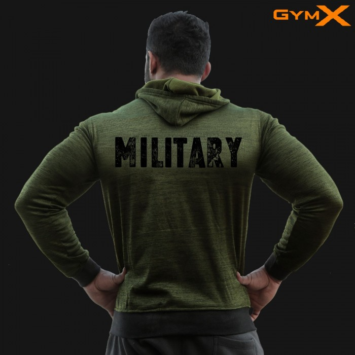 Ultimatum Hoodie- Military Green (Flex Fit)