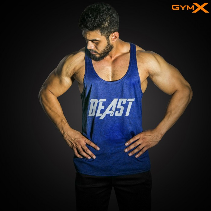 Phantom Beast Stringer- Persian Blue (Flex Dry Fit)